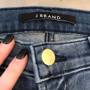 J Brand High waisted skinny jeans!